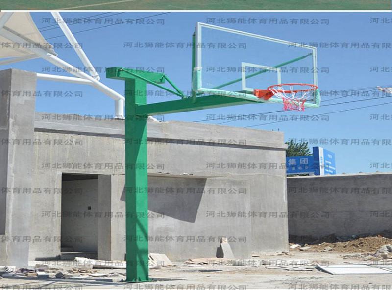 篮球架的使用和保养