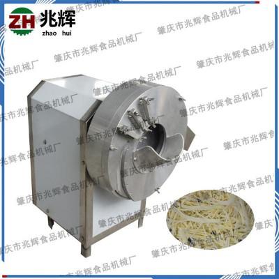 兆辉厂家供应多功能切姜丝切笋丝设备 莲藕黄瓜土豆切丝切片机