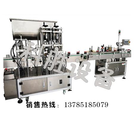 邯郸科胜辣椒酱灌装生产线 调味酱料灌装生产线