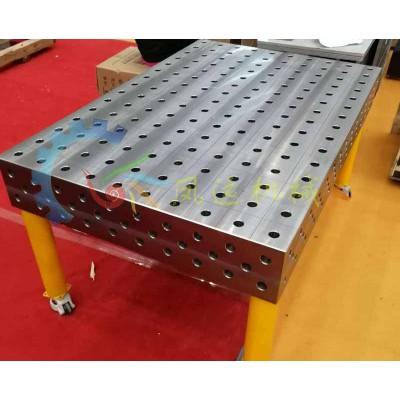 三维工装夹具带孔平板_钳工焊接平台加工定制规格齐全
