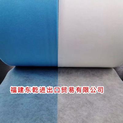 福建厂家直销SS25g无纺布一次性口罩195/175白蓝色无纺布现货