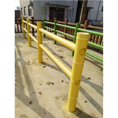 台前仿竹栏杆 菁致海螺水泥仿木栏杆 仿竹栏杆