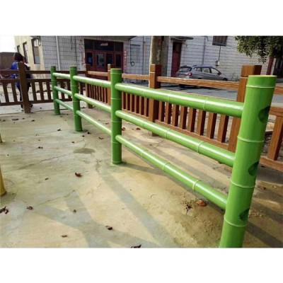 景区防腐仿竹栏杆 广东生产厂家零售批发 仿竹栏杆