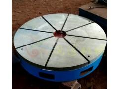 圆形铸铁平板哪里有_镗床工作台定制_测量铸铁平板
