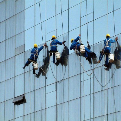 四会玻璃清洗,四会市高空幕墙清洁公司,肇庆清洁公司