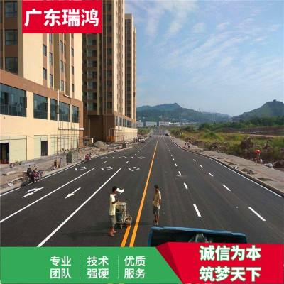 南沙区生活小区停车场划线施工方案【广东瑞鸿】