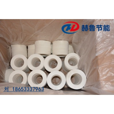 耐火纤维垫板耐温1200度耐火纤维毡垫圈陶瓷纤维垫
