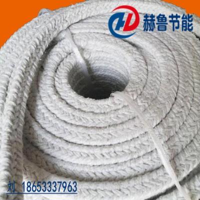 防火隔热密封绳盘根耐高温密封保温陶瓷纤维绳盘根