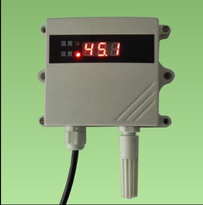 大屏高清屏显温湿度传感器-485