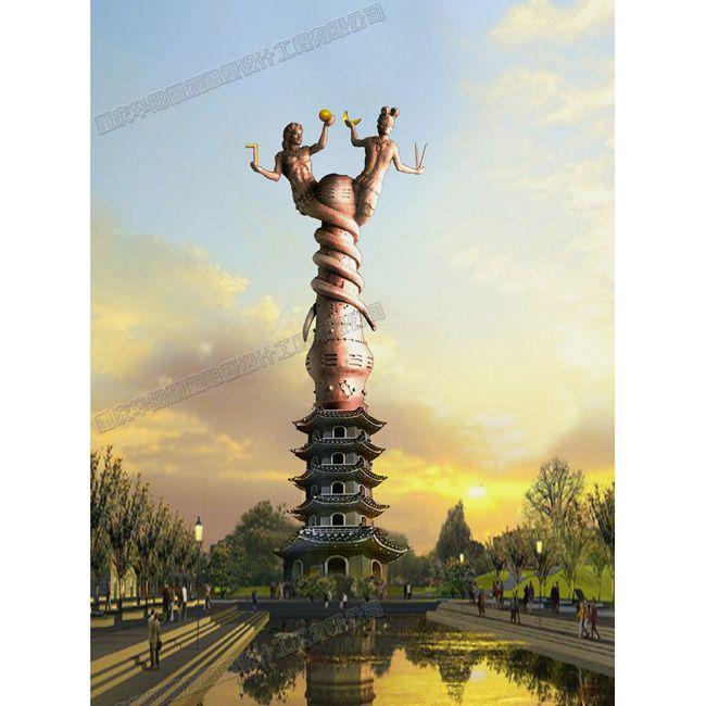 华阳雕塑  重庆主题雕塑设计 四川地标性雕塑价格