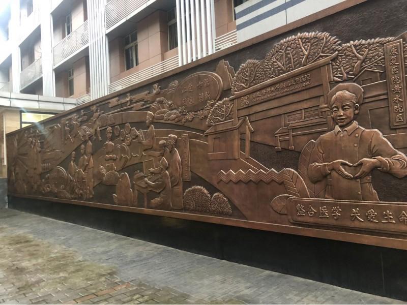 华阳雕塑 四川室内外浮雕 贵州装饰浮雕 云南校园浮雕