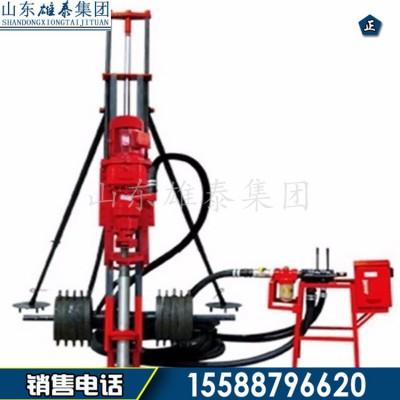 QK-100型气电联动潜孔钻机 边坡支护多角度打孔钻机