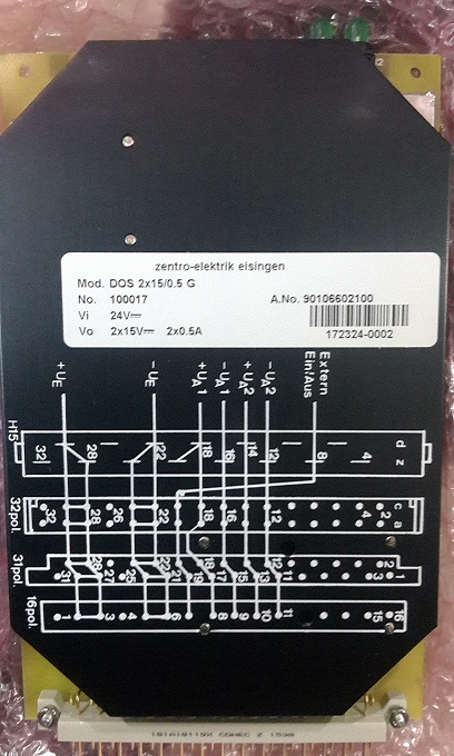 德国ZENTRO-ELEKTRIK电源